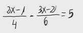 21. Ecuación de primer grado