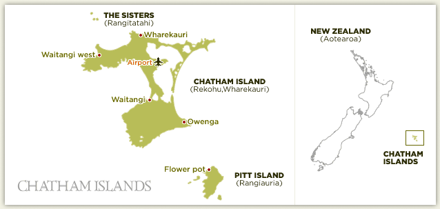 Virtual New Zealand Stamps Chatham Islands