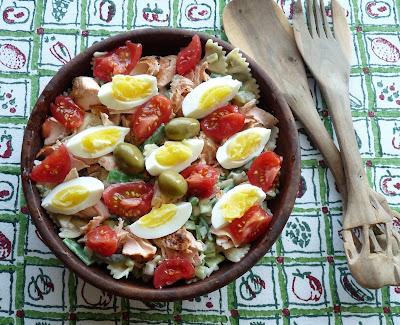 Pasta Salade Niçoise
