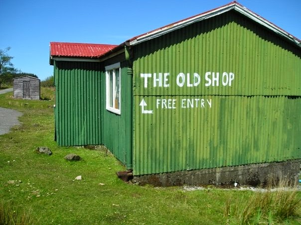 The old shop eigg