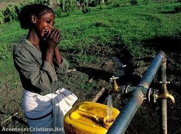 Escasez de agua en Etiopía