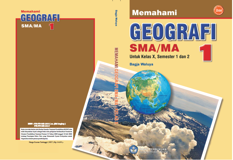 Contoh Buku Bacaan Geografi Sma Kelas X Materi Pembelajaran Dan