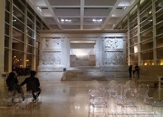 ara pacis augusti interior guia portugues roma - Ara Pacis em 3D