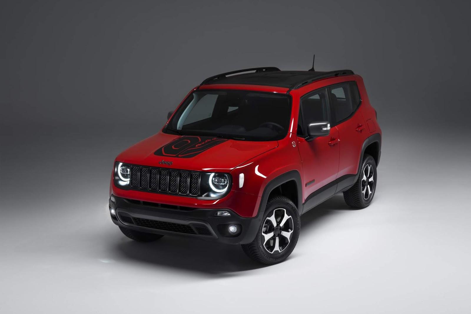 El Jeep Renegade estrena versión híbrida enchufable