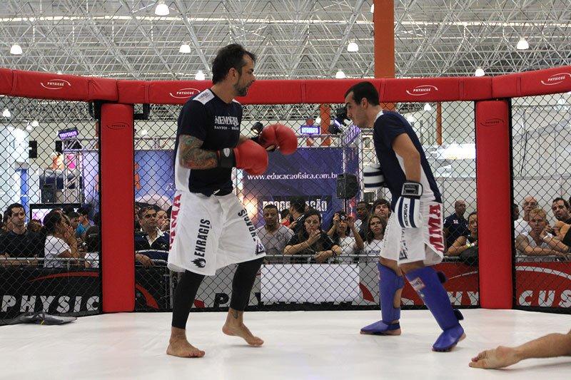Ex-BBB Marcelo Dourado desafiou lutador do UFC no octógono