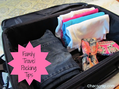 5 Family Travel Packing Tips