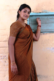 Jai Quheni Stills in Saree from Aarohanam Movie
