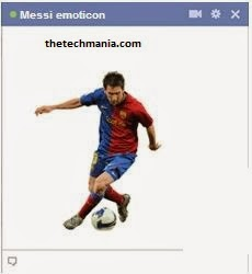 facebook chat emotions Messi