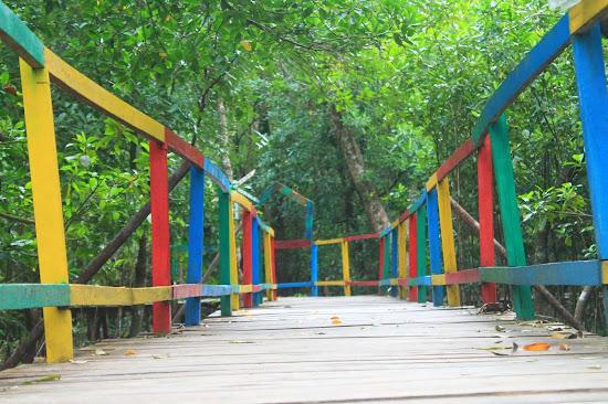 Pemandangan Mangrove Park bakau Besar 5 - Catatan Nizwar ID
