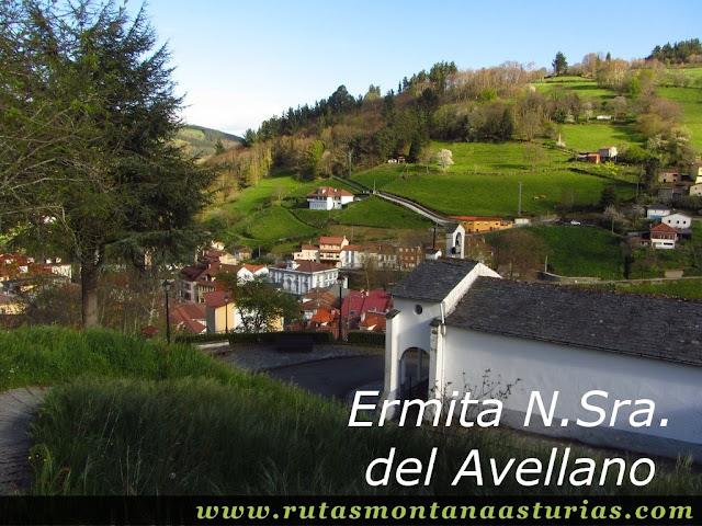 Ermita de Nuestra Señora del Avellano en Allande