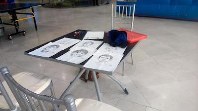 stand de caricaturas