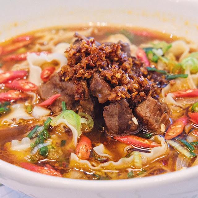 Secret Recipe Taiwan Beef Noodles