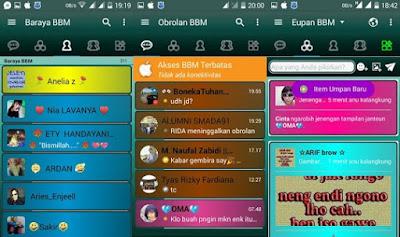 BBM MOD Kelap Kelip v3.1.0.13 APK