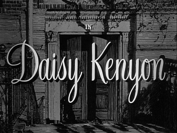 Daisy Kenyon title screen
