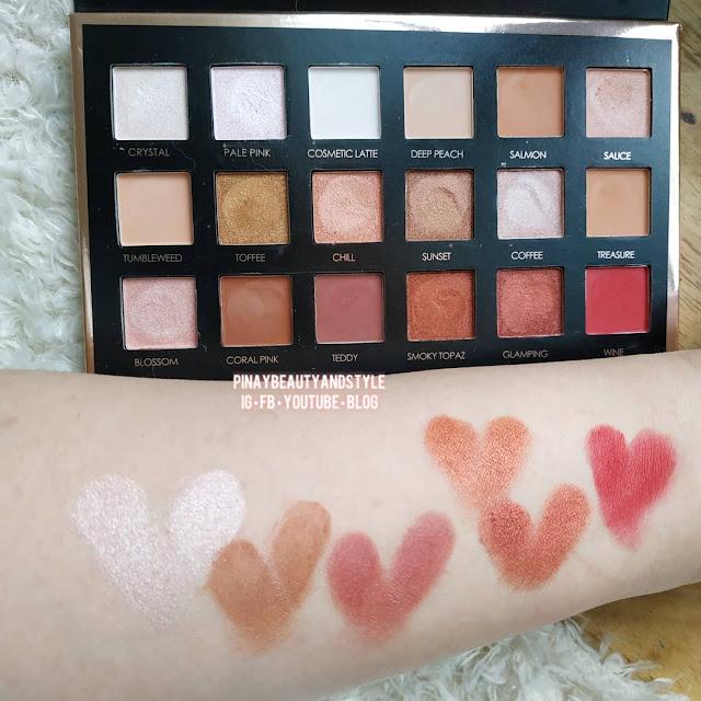 Focallure eyeshadow review