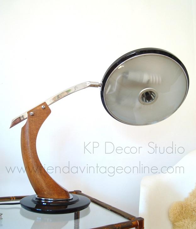 Comprar lámpara de mesa vintage marca fase modelo president