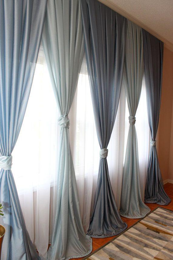 Diy Bay Window Curtains Bead Curtain Beaded Door