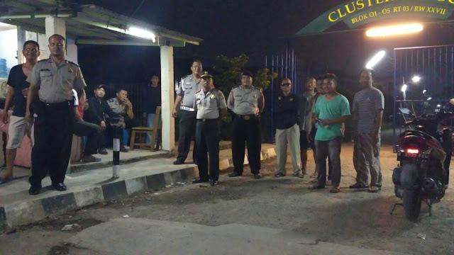 Polsek babelan Tingkatkan Patroli Menjelang Idul Fitri