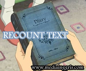 Kinds of Text, Recount Text : Definition, Purposes, Generic Structures, Language Features, Text Kinds - mediainggris.com