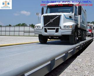 Dịch vụ cho thuê cân ô tô xe tải HTH giá hợp lý