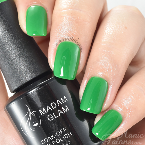 Madam Glam Gel Polish Lost in the Woods Swatch