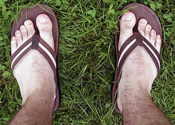 Rezar descalço