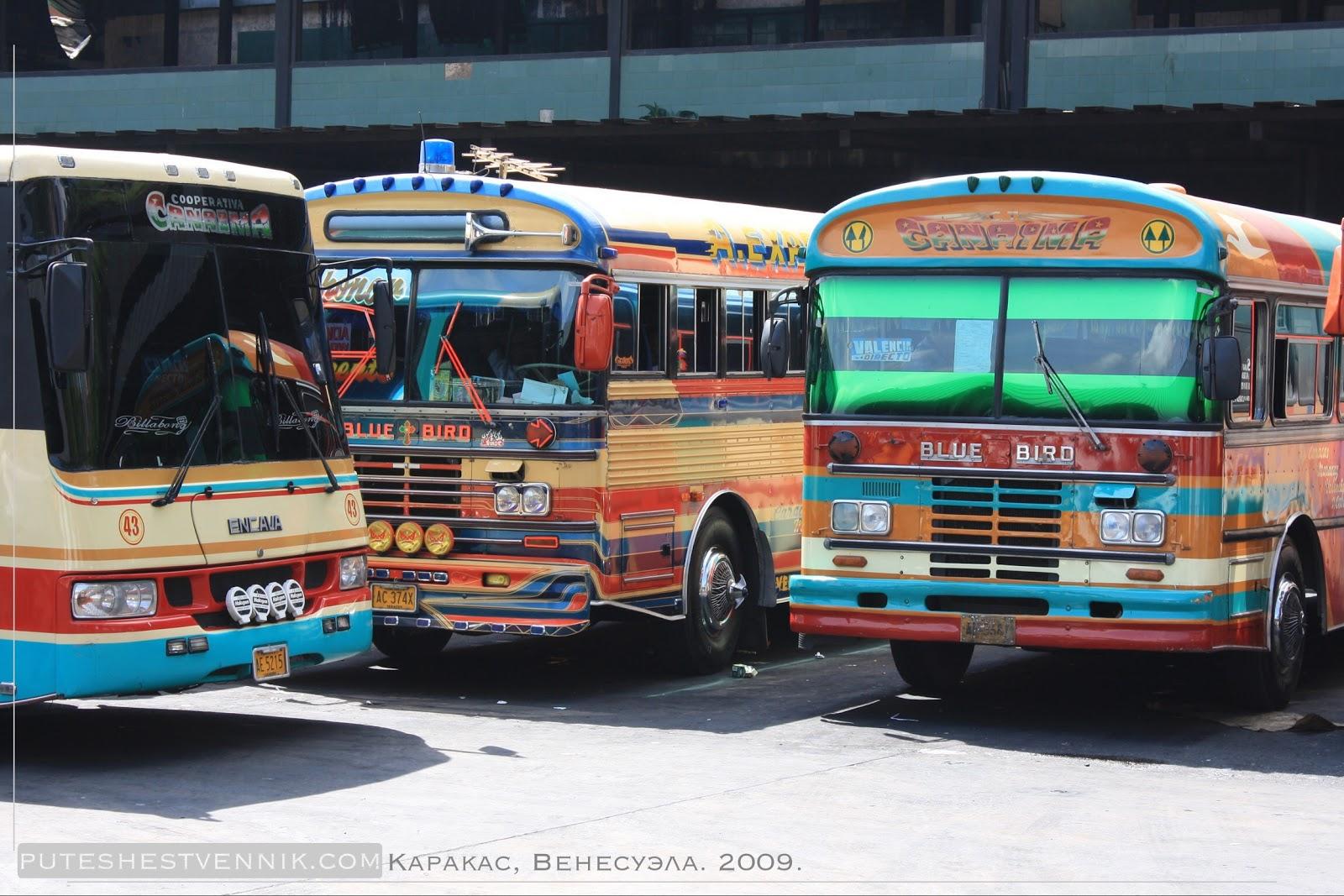 Автобусы в Каракасе