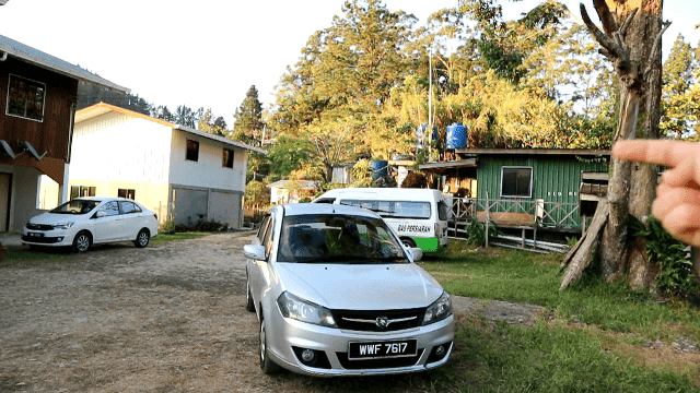 kereta sewa Sabah, Kundasang, Ranau