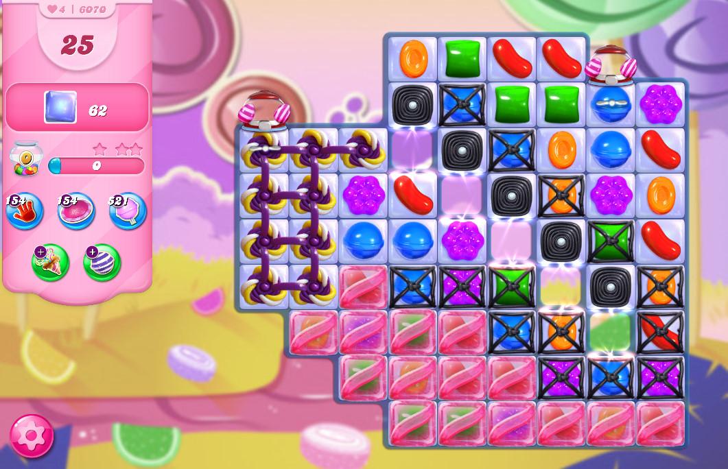 Candy Crush Saga level 6070