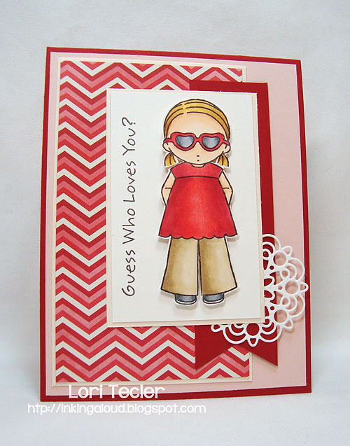 Guess Who Loves You?-designed by Lori Tecler-Inking Aloud-stamps from My Favorite Things