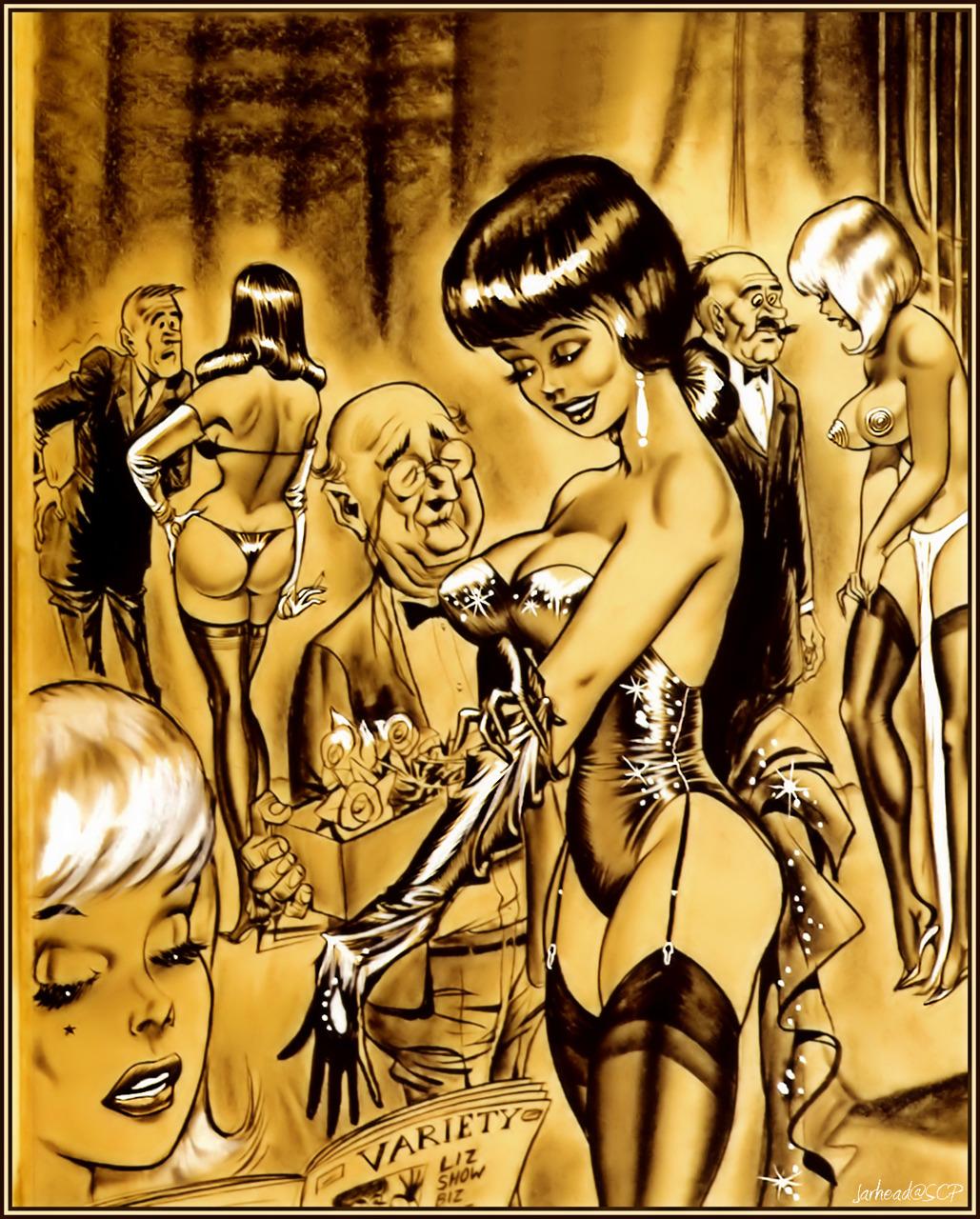 Vintage Erotica Comics