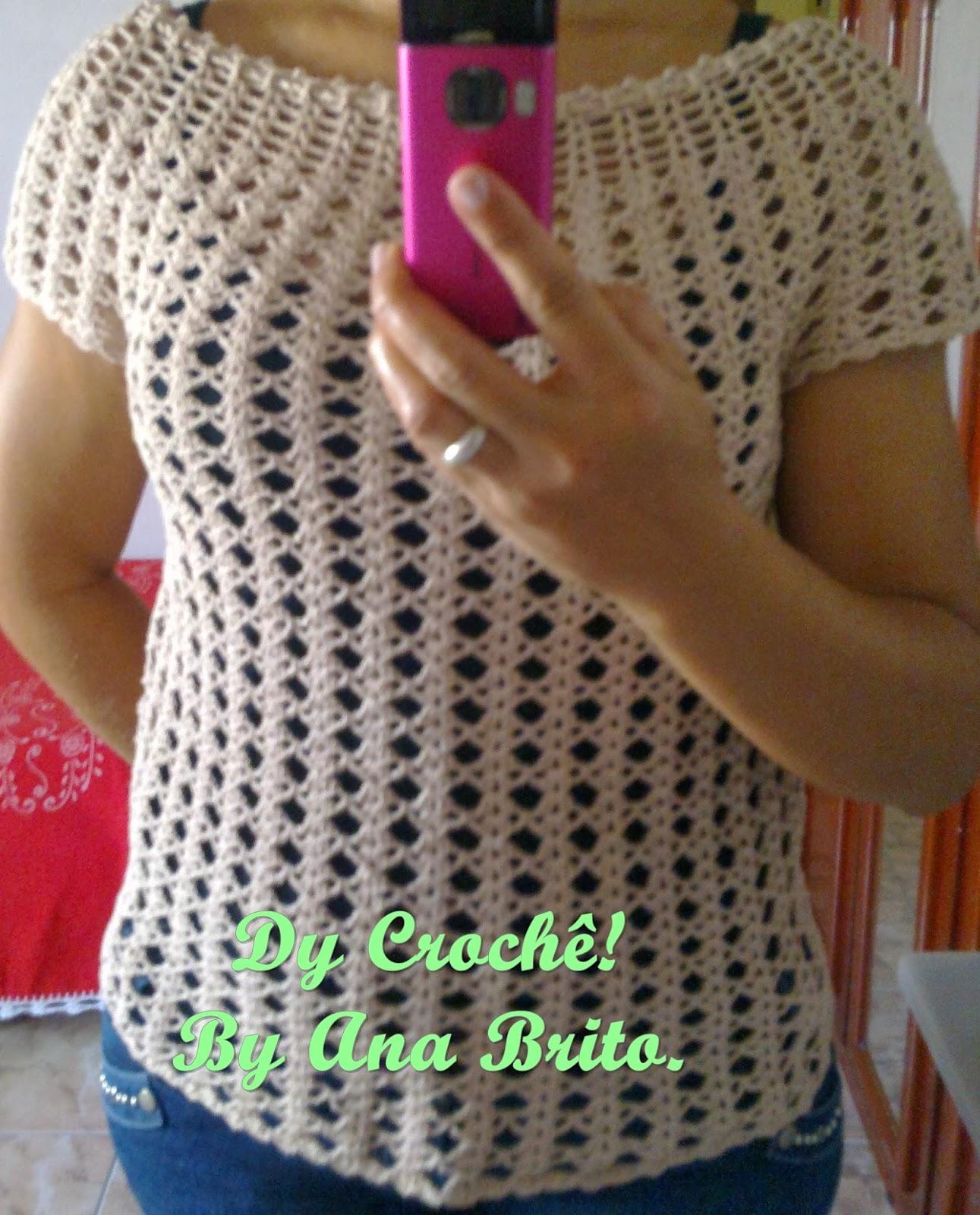 Blusa De Croche Passo A Passo Youtube