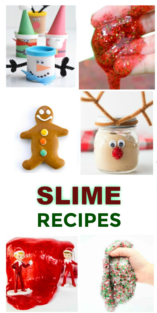 30+ SLIME RECIPES FOR KIDS (Holiday slime recipes) #slime #slimerecipes #christmasslime #santaslime #christmasslimediy #christmasslimerecipe #grinchslime #slimeforkids #howtomakeslime