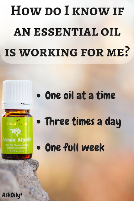 How do I know if an essential oil is working for me method | Hot Pink Crunch