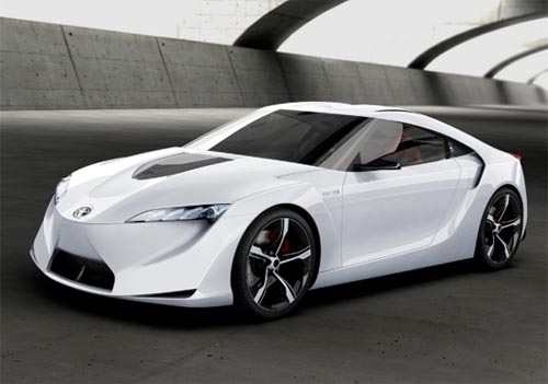 New Modification Toyota Ft Hs Concept Luxury Car Design