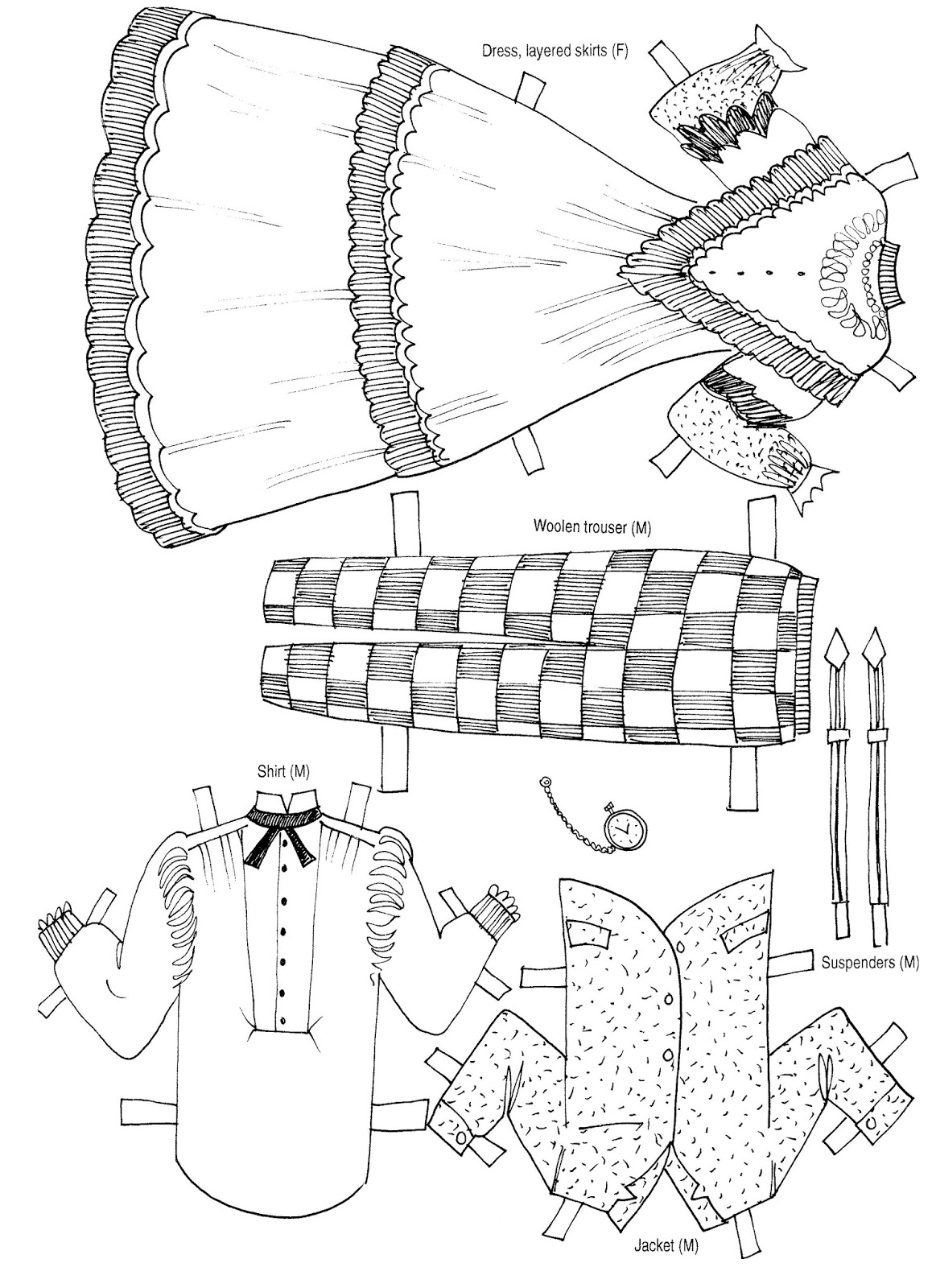 Mostly Paper Dolls Too!: Make Your Own Paper Dolls