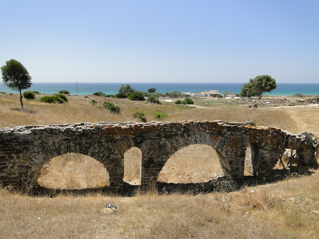 Acueducto romano en Baelo Claudia