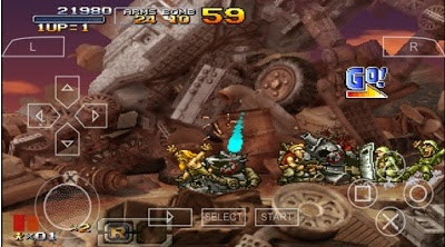Metal Slug Double X Ppsspp ISO 442 MB Game Offline Gratis
