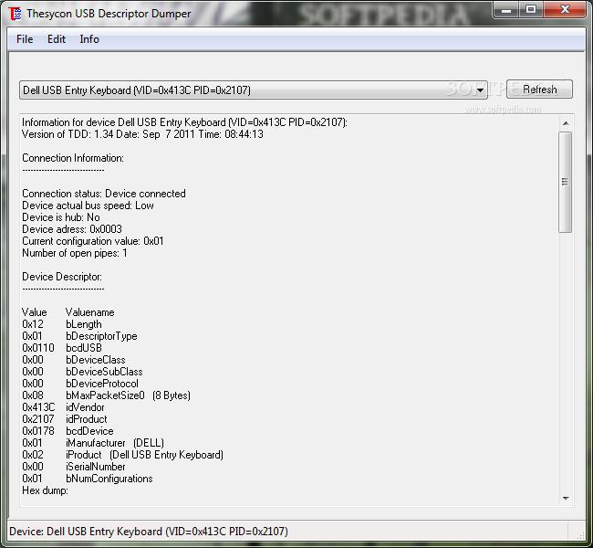 Thesycon USB Descriptor Dumper 1 34 0 ~ Pc Tools Antivirus