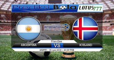 Prediksi Skor Bola Argentina Vs Iceland 16 Juni 2018