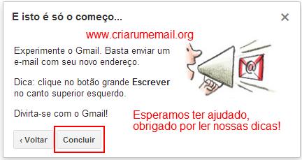 Como Criar um Email no Gmail