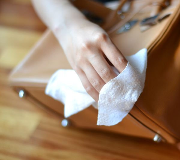 Caring For a Leather Bag - Sweep the bag regularly