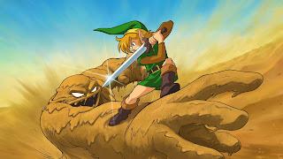 The Legend of Zelda Link's Awakening Computer Wallpaper