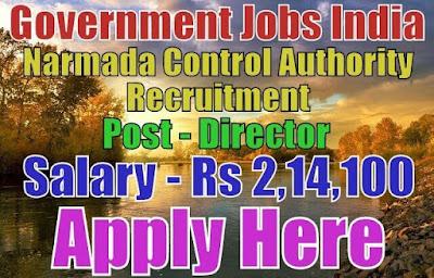Narmada control authority nca recruitment 2017