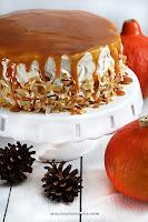 Ciasto dyniowe z solonym karmelem