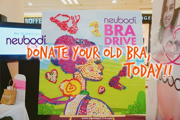 Neubodi Bra Drive DONATE • SUPPORT • RECYCLE