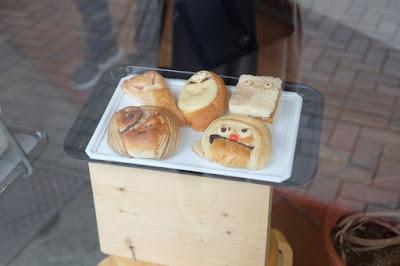 鳥取観光 水木しげるロードで売っている鬼太郎パン