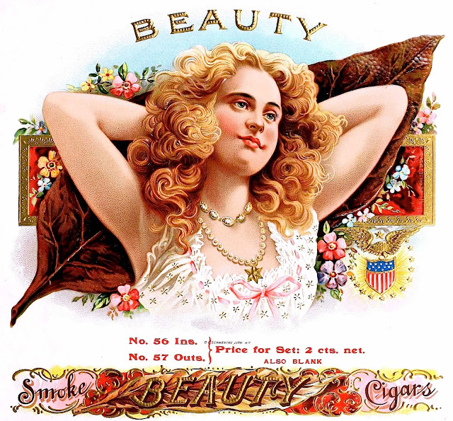 Beauty Cigar box 1905