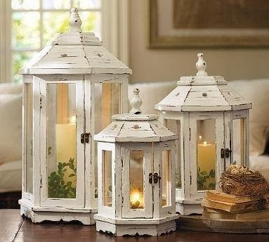 Mille idee casa lanterna stile shabby for Lanterne arredo