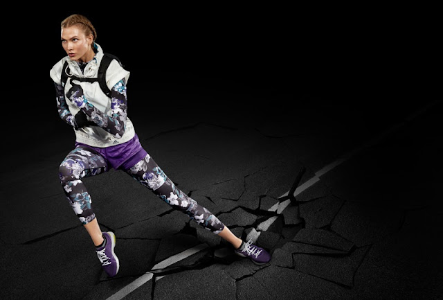 Adidas by Stella McCartney Fall/Winter 2016 Campaign featuring Karlie Kloss